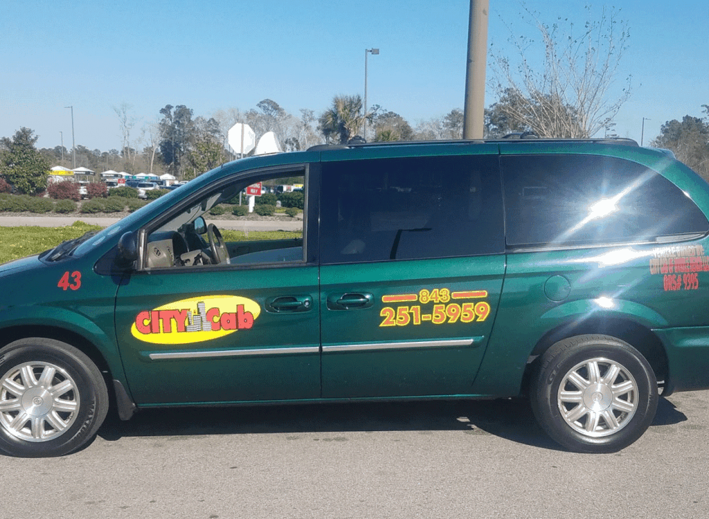 City Cab of Myrtle Beach: Friendly drivers, Clean taxis